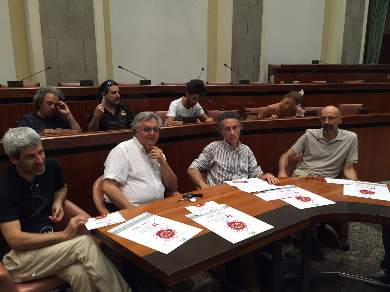 Da sinistra Barilla, Giunta, Jannuzzi, Farina