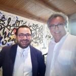 L'ambasciatore Ghazaryan con Gaetano Giunta al Macho