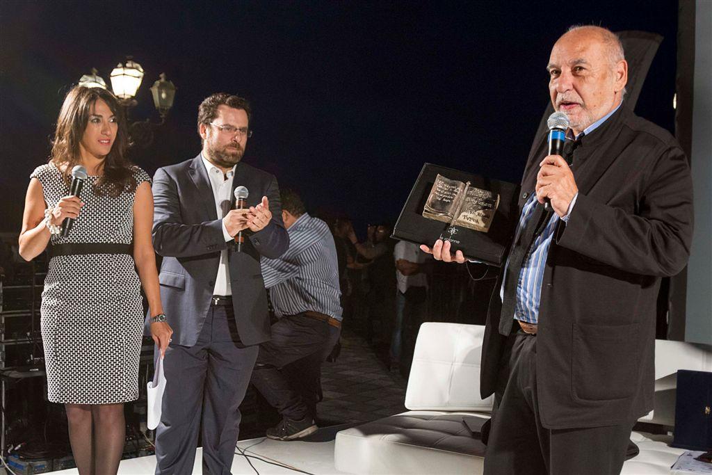 Ferrara, D'Agostino, Tahar Ben Jelloun - premiazione