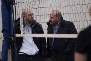 coach Giovanni Russo e il presidente Giorgio Caprì