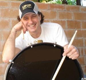 Il batterista Ercole Cantello