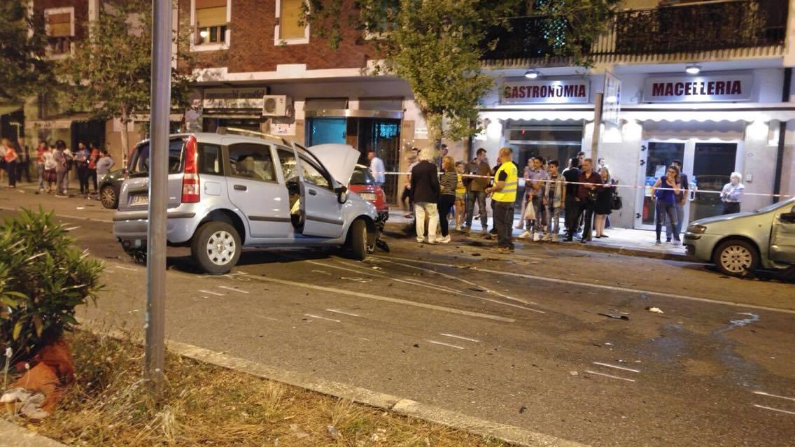 Terribile incidente stradale sei feriti una 23enne in rianimazione