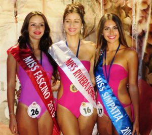 Premiate Miss Riviera Jonica Roccalumera 28.08.2016