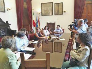 foto conferenza stampa presentazione street news