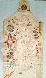 Carta nautica 1646