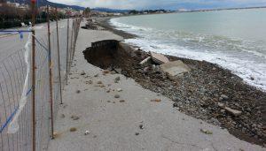 Sant'Agata Militello erosione costiera 1 17-01-17