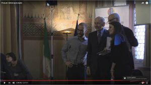 Magauda col campionissimo di ciclismo Vittorio Adorni e i ragazzi del Club Junio