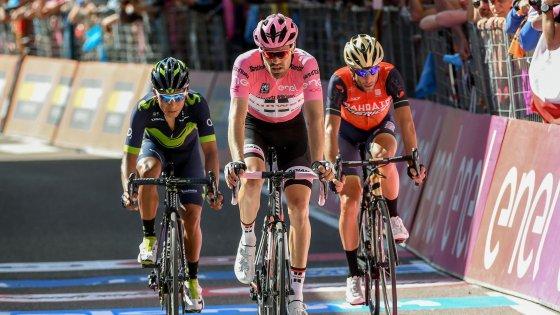 Giro: tappa a Pinot, Quintana ancora in rosa