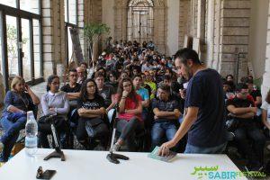 Vins Gallico con gli studenti (1)