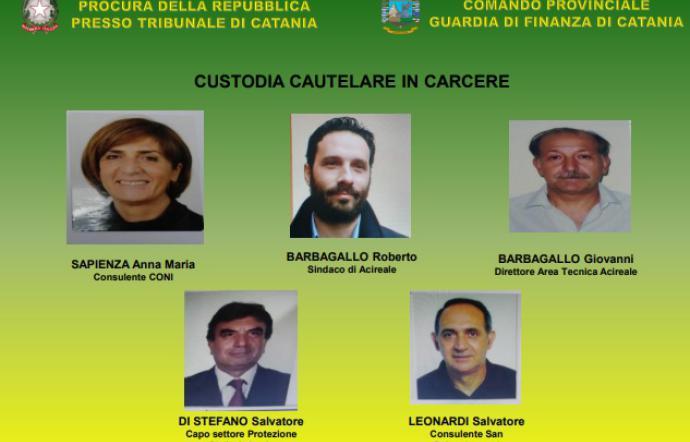 Appalti truccati e corruzione, arrestato il sindaco di Acireale Roberto Barbagallo