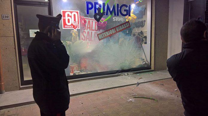 Bomba esplode in pieno centro. Paura a Santa Teresa di Riva