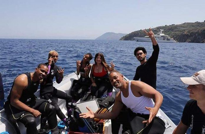 Eolie vip: Will Smith versione sub, esplora Lipari
