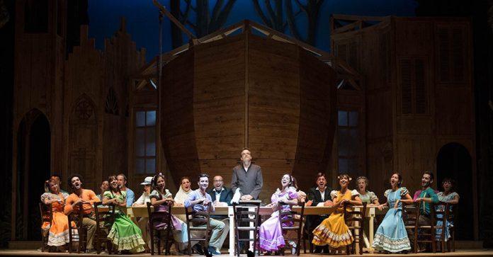 Dal 15 al 17 febbraio al teatro vittorio emanuele il musical aggiungi un posto a tavola - Aggiungi un posto a tavola 13 ottobre ...