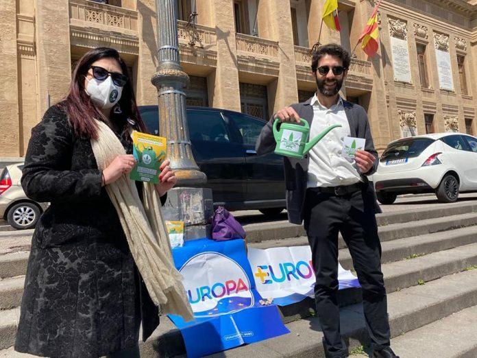 """Cannabis: +Europa in piazza anche a Messina, """"avanti legalizzazione"""""""