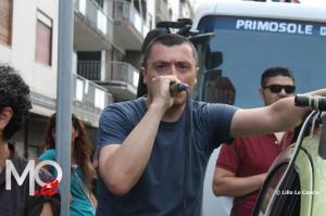 Manifestazione cavalcavia no tir Pinelli (6)