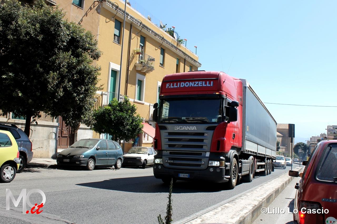26 agosto 2014 TIR -Viale Boccetta e approdo Tremestieri (1)