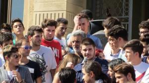 studenti protesta accorinti