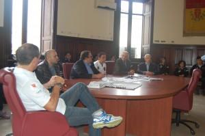 conferenza presentazione Handball Messina