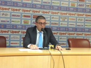 Coach Giulio Griccioli (Orlandina)