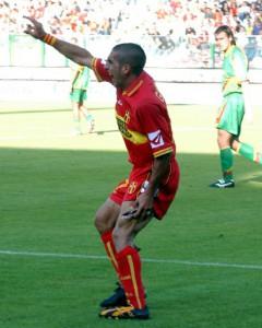 Il terribile infortunio di Domenico Giampà nella partita contro il Lecce