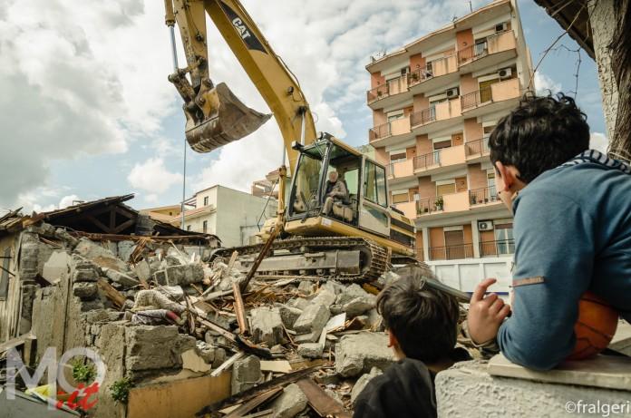Baracche, Rione Taormina, Messina, Reportage, Sgombero, Casa, bambini,